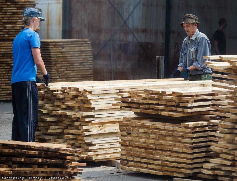 Лесопромышленное производство в Томской области выросло в 1,5 раза
