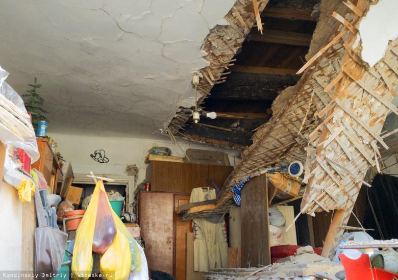 Жительница дома на Советской рассказала, как в ее квартире обрушился потолок