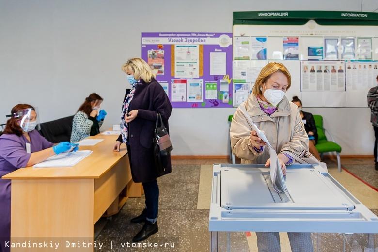 Менее 10% избирателей проголосовали на выборах в Томской области за первые 7 часов