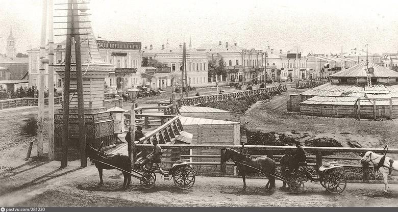 Июль 1917-го в Томске: рост цен, заморозки и открытие Лагерного сада