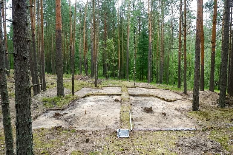 Археологи нашли под Томском место выжига древесного угля XIX века