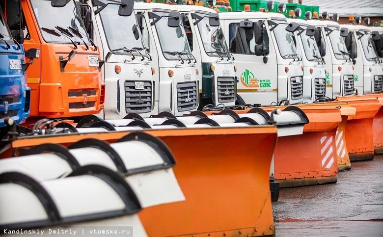 Дороги Томска зимой будут посыпать меньшим количеством соли, чтобы избежать грязи
