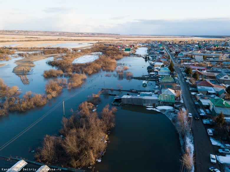 В Томской области оценили паводкоопасные участки