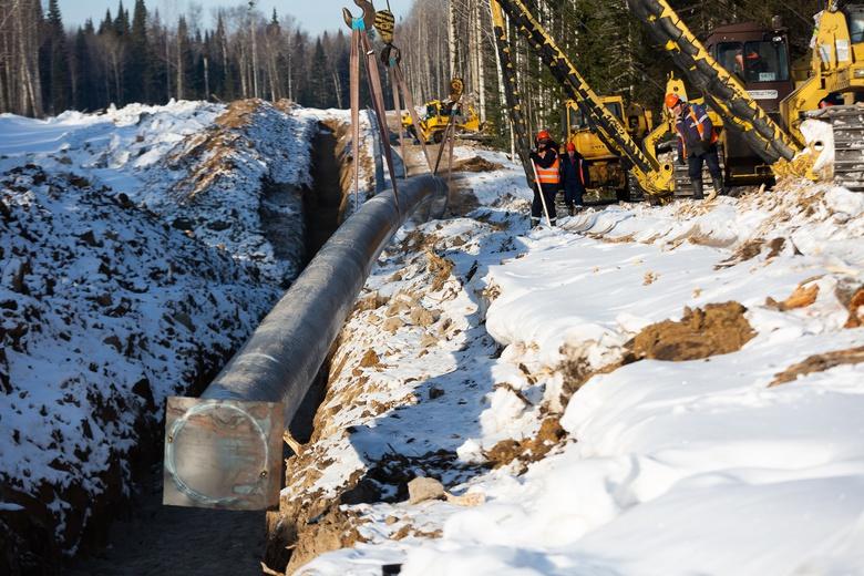 Специалисты рассказали о ходе строительства газопровода Томск — Асино