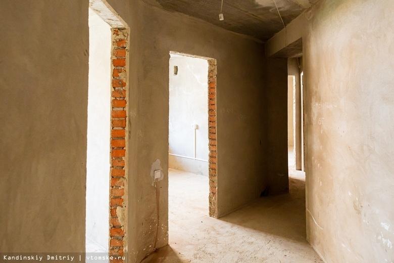 Более 180 тыс «квадратов» нового жилья ввели в Томской области в 2021г