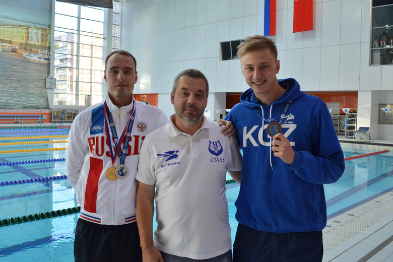 Томские дайверы завоевали медали на чемпионате и Кубке мира (фото)