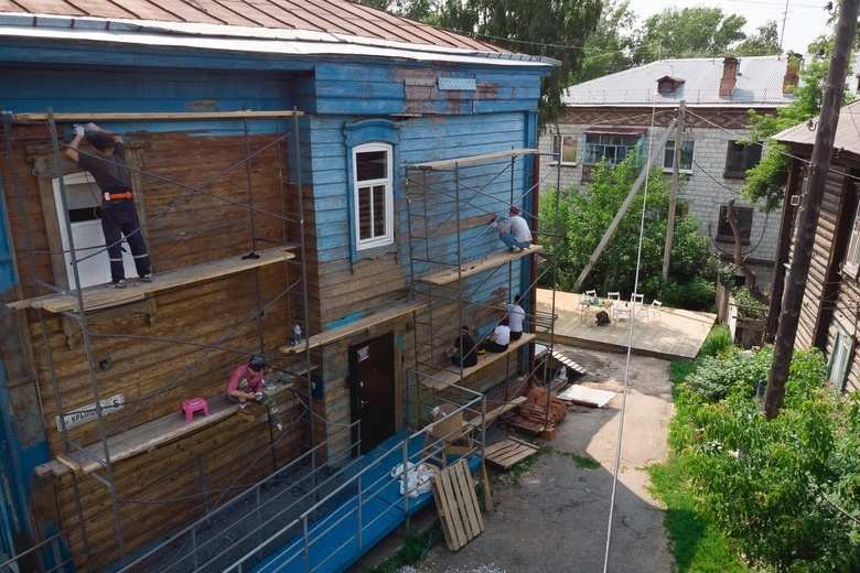 Деревянный дом по улице Крылова, 5