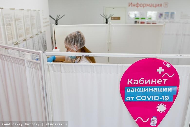 Около 300 тыс человек в Томской области поставили прививки от COVID