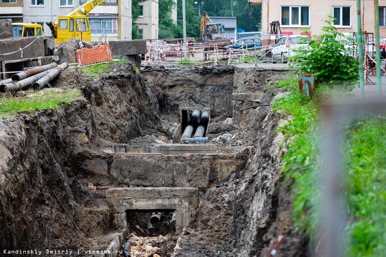 Порядка 80 домов Томска до сих пор не подключили к горячей воде