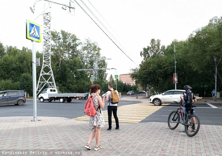 «Идем в графике»: власти рассказали, когда завершится ремонт тротуаров на Ленина и Нахимова в Томске