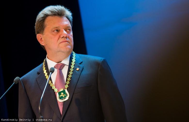 Иван Кляйн на инаугурации после выборов, 2018 год