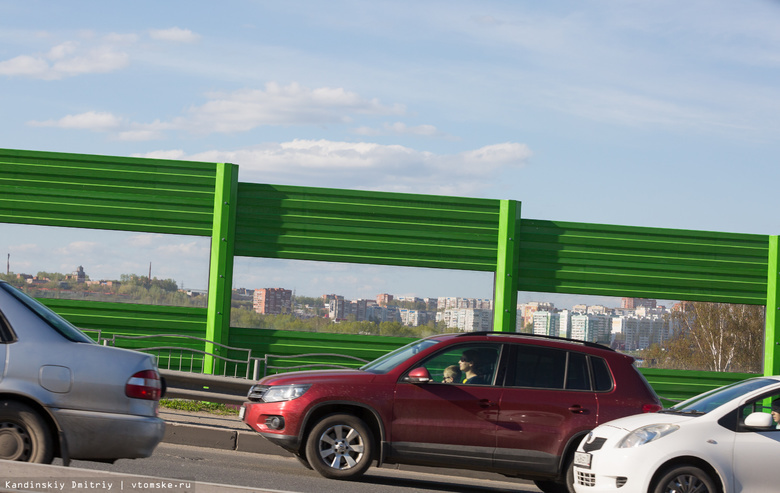 Губернатор поручил установить шумозащитные экраны вдоль трассы Богашево — Томск