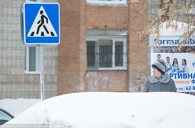 Более 70 предписаний получили томичи за выгрузку снега на тротуары и дороги