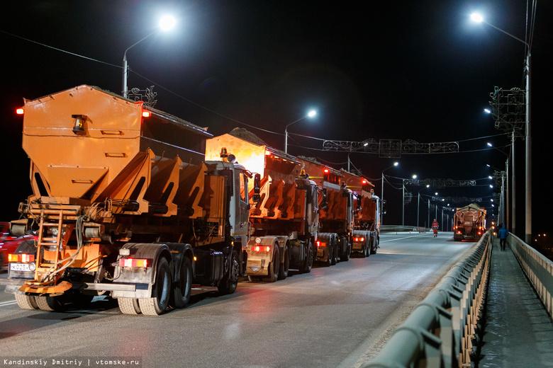 Проверка на выносливость: испытания прошли на Коммунальном мосту Томска