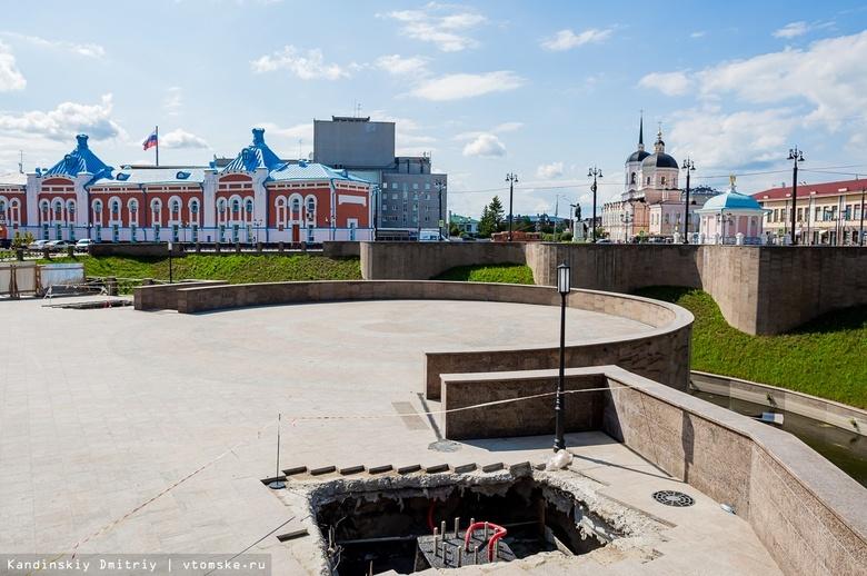 Светодиодные экраны на гранитной набережной Ушайки появятся к августу