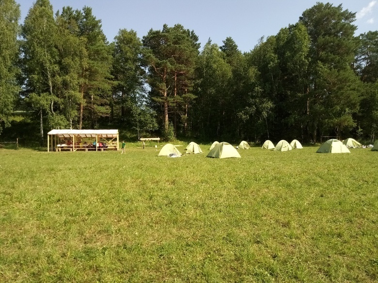 Палаточный лагерь «Перевал»
