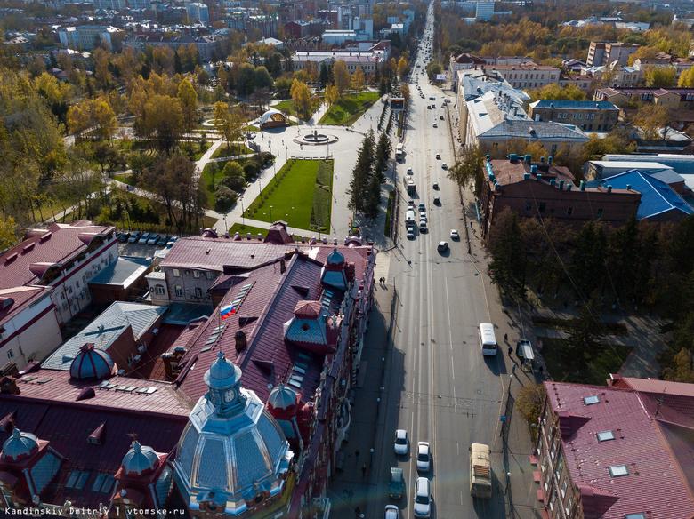Мэр приказал устранить колею на проспекте Ленина за 3 недели до томского марафона