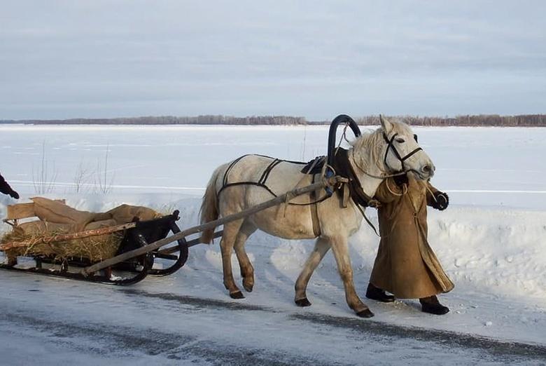 «Красный обоз» с рыбой отправили из Томской области в Кузбасс