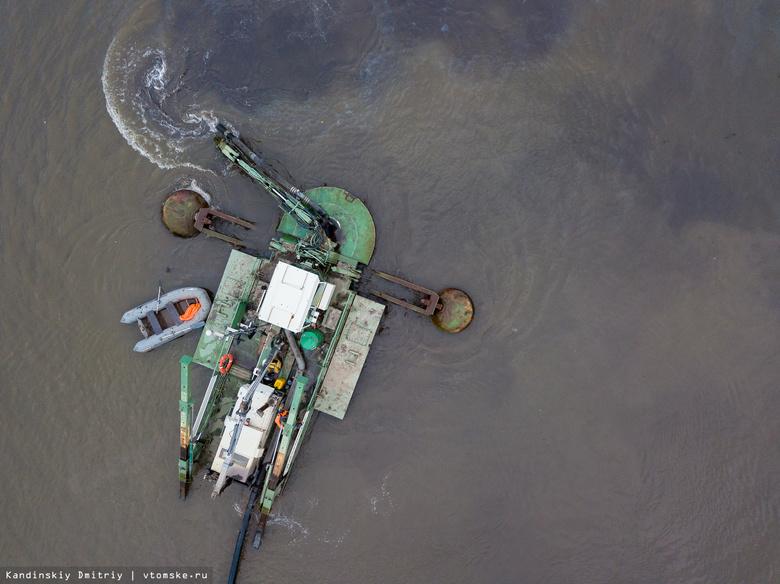 Очистка озера Док в Северске пройдет в 2019-2020гг