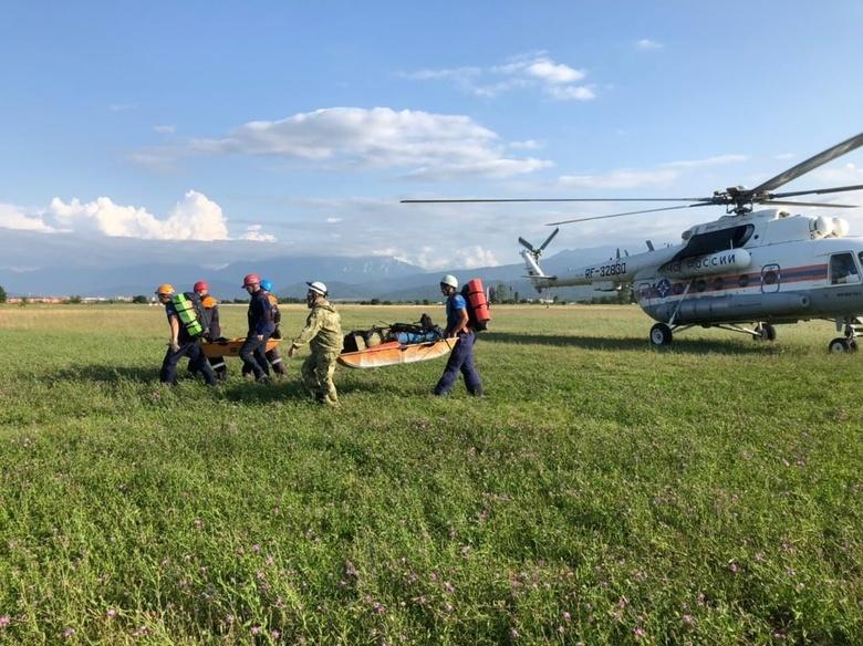 Томская альпинистка погибла в горах Северной Осетии из-за камнепада