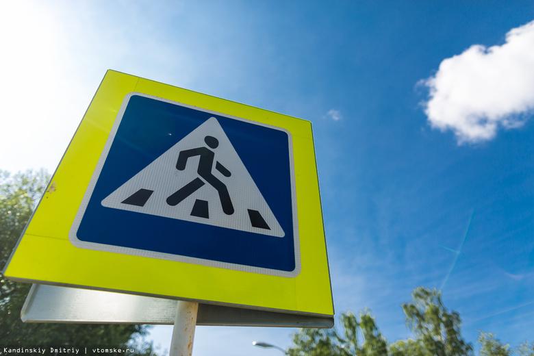 Два новых пешеходных перехода появятся вблизи школ и садов в Томске