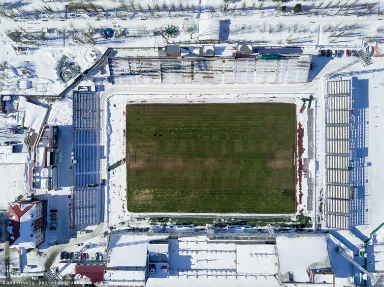 ФК «Томь» завершает подготовку газона к весенним матчам первенства ФНЛ