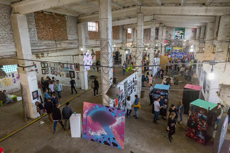 Выставку Street Vision в Томске открыли батлом сибирских райтеров