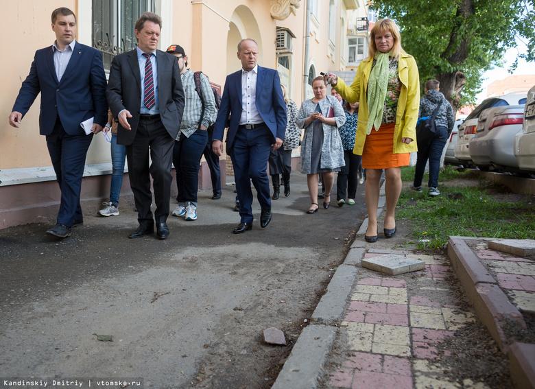Кляйн: сумма ремонта томских дорог по гарантии в 2017г уменьшилась почти в 6 раз