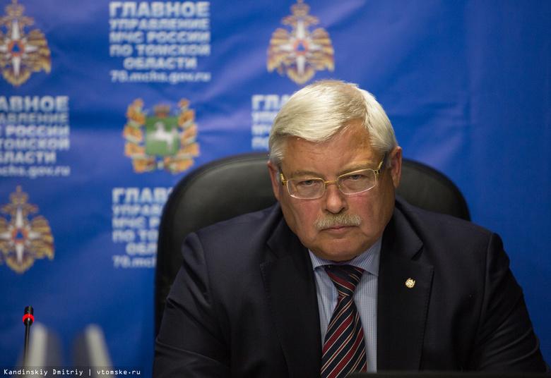 Томский губернатор предупредил о возможном введении ЧС из-за шелкопряда по всему СФО