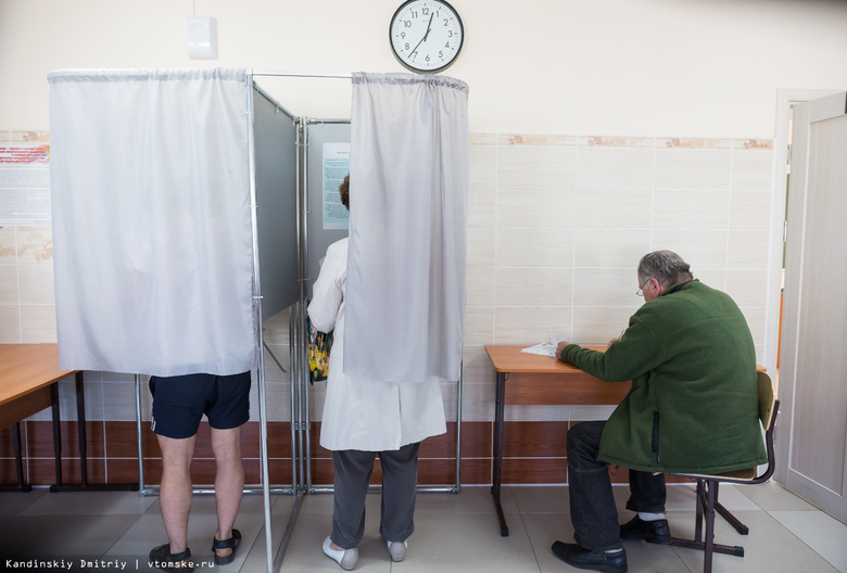 За 2 часа до конца выборов явка в Томской области составила почти 30 %