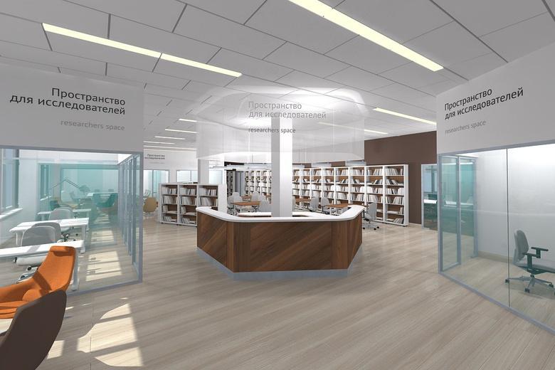 Спецзал для исследователей откроется в библиотеке ТГУ в феврале (фото)