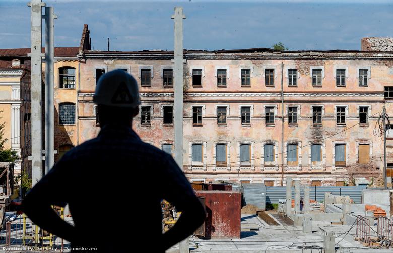 Строительство школы на месте училища связи в Томске планируют закончить к концу 2017г