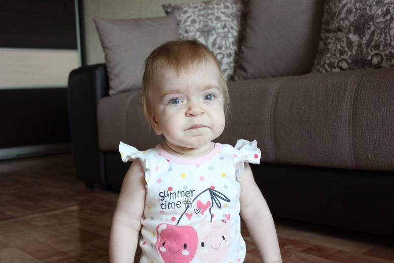 Малышке из Томска требуются средства на поиск донора и пересадку костного мозга