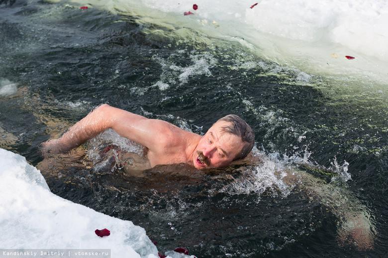 Праздничный заплыв устроят томские «моржи» за пару часов до Нового года