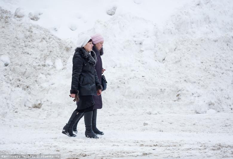 Кляйн: из-за снежной зимы в Томске перед Новым годом вводили ЧС
