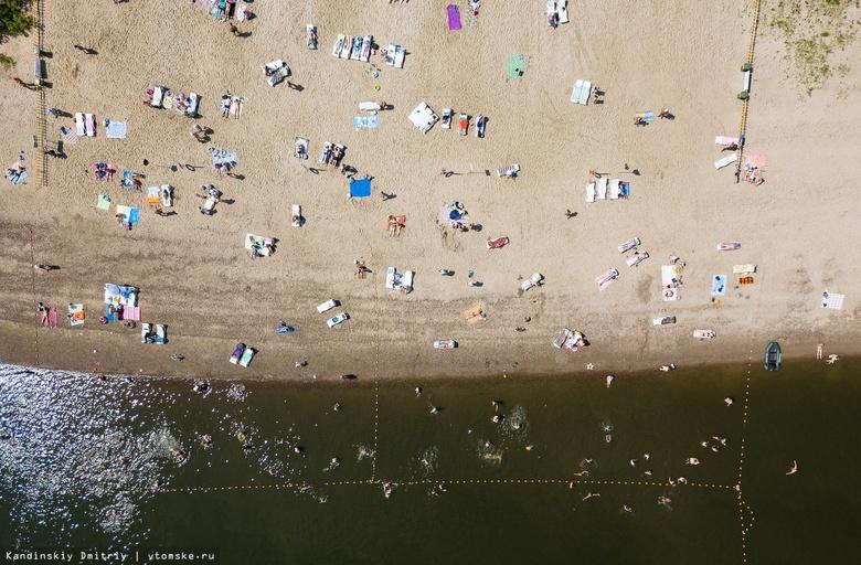 Турниры по волейболу и «Библиотека на песке» ждут томичей летом на Семейкином острове