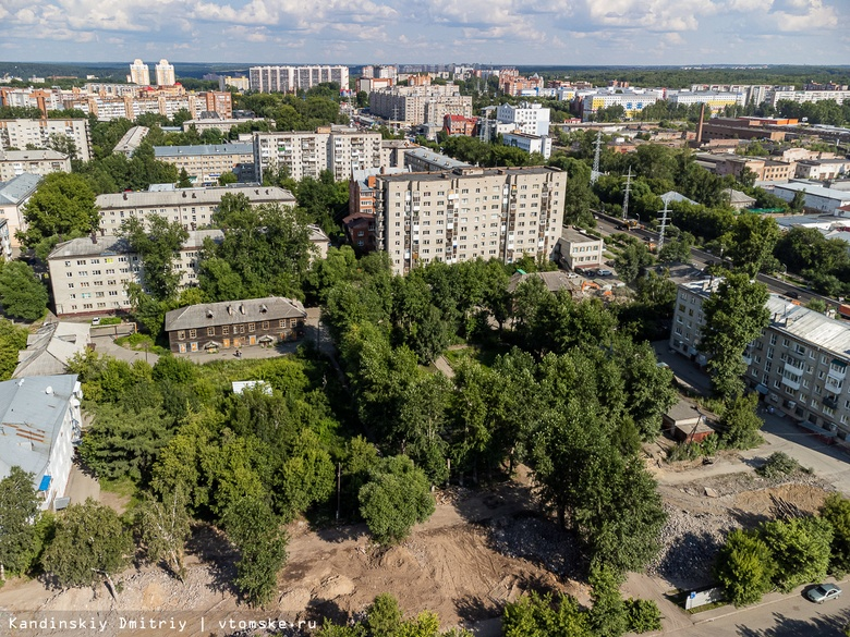 Аварийные дома сносят в Кировском районе Томска