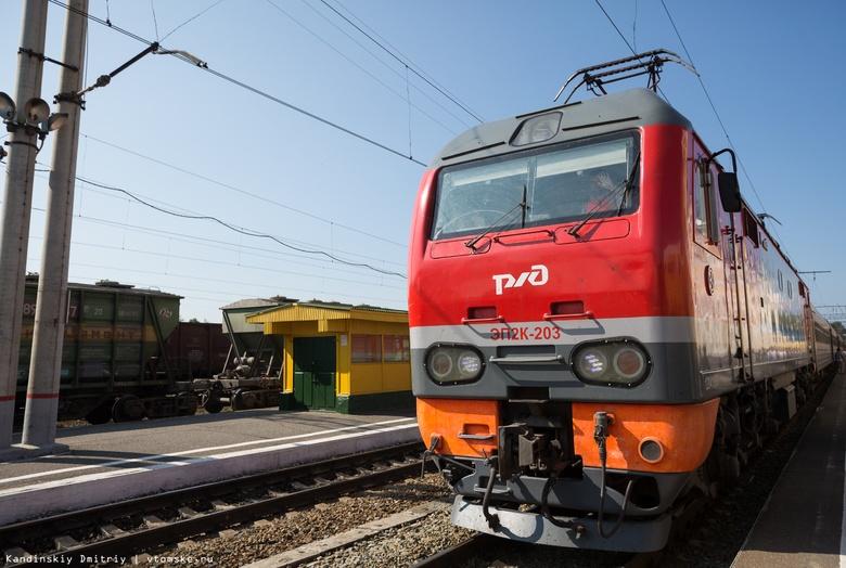 Поезд-музей с военной техникой прибудет в Томск