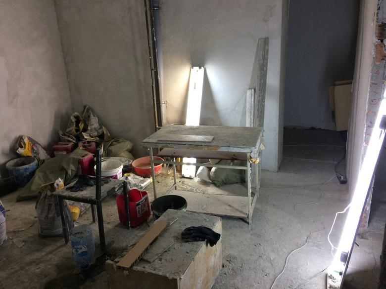 Умывальная в общежитии № 3 ТГУ