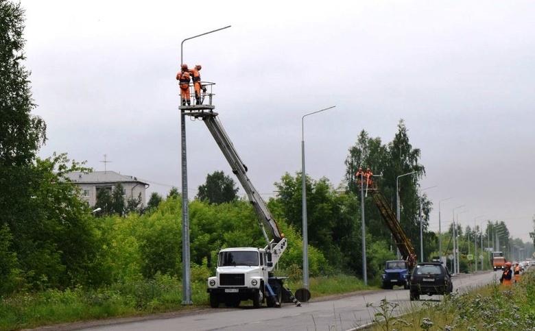 Уличное освещение появится вдоль дорог в Зоркальцево, Зональном и Предтеченске