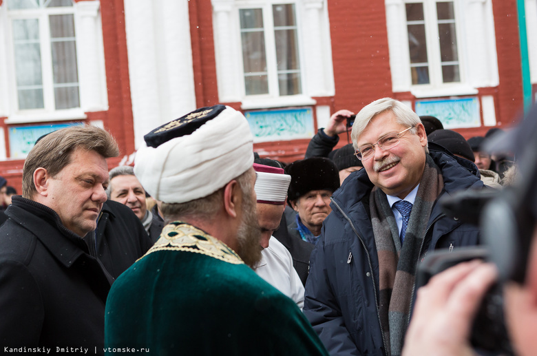 Кадыров через Instagram поблагодарил томские власти за восстановление мечети