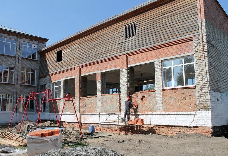 На капремонт спортзала в парабельской школе «Газпром трансгаз Томск» выделил 3 млн руб