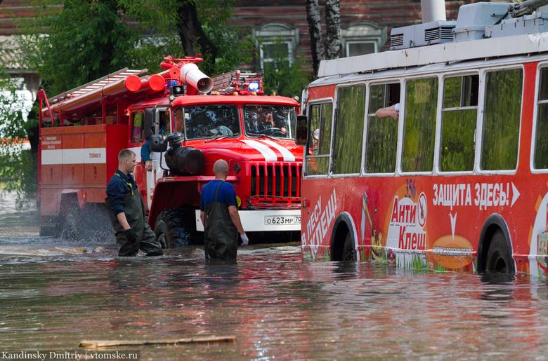 Мэрия объявила аукцион на ремонт ливневки на затапливаемом участке Фрунзе в Томске
