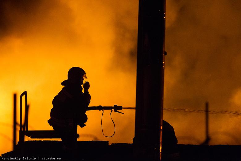 Сверепый пожар вТомске потушили cотрудники экстренных служб