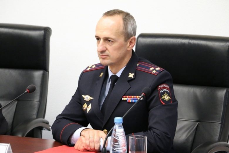 Коллективу томского УМВД представили нового начальника