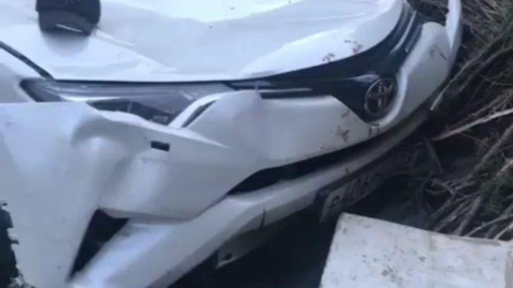 Автомобилистку из Дагестана закидали камнями