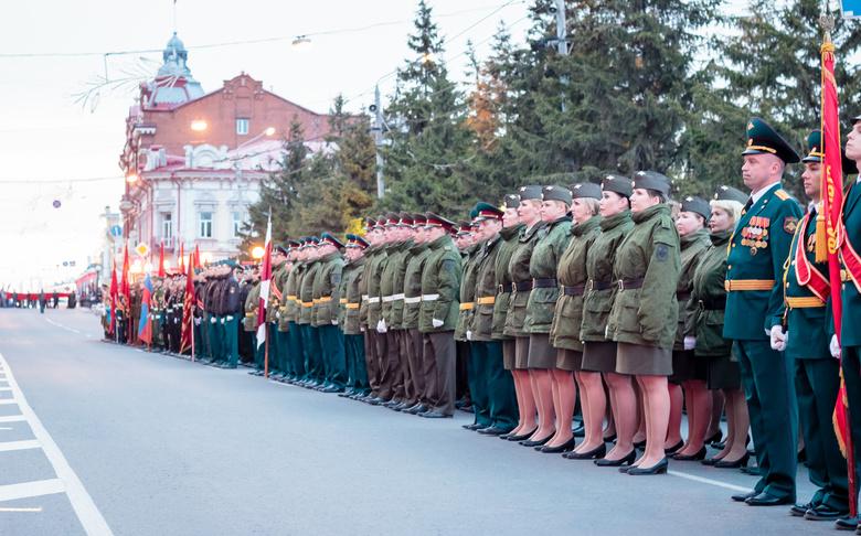 Будет в сколько во парад красноярске мая 9