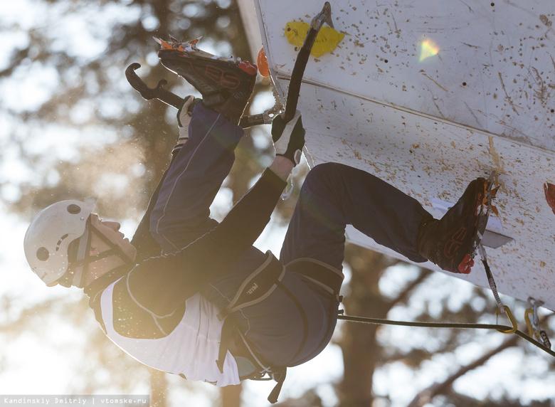 Быстрее и выше: альпинисты из РФ борются за победу на соревнованиях в Томске