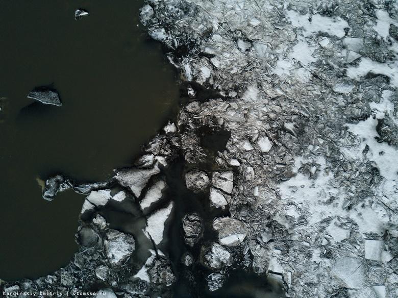 Ледоход проходит на двух участках Оби