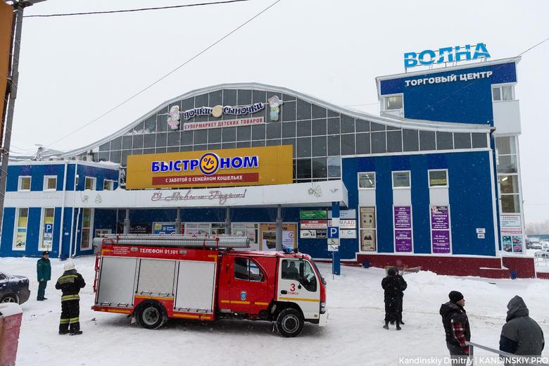 Эвакуация проходит в крупных торговых центрах Томска